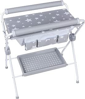 Plastimyr Estrellas -  Bañera flexible + Cambiador Bebes,