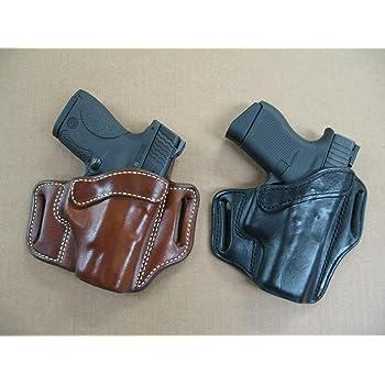TAN RH Colt 1903 380 .380acp Leather Clip On OWB Belt Concealment Holster CCW