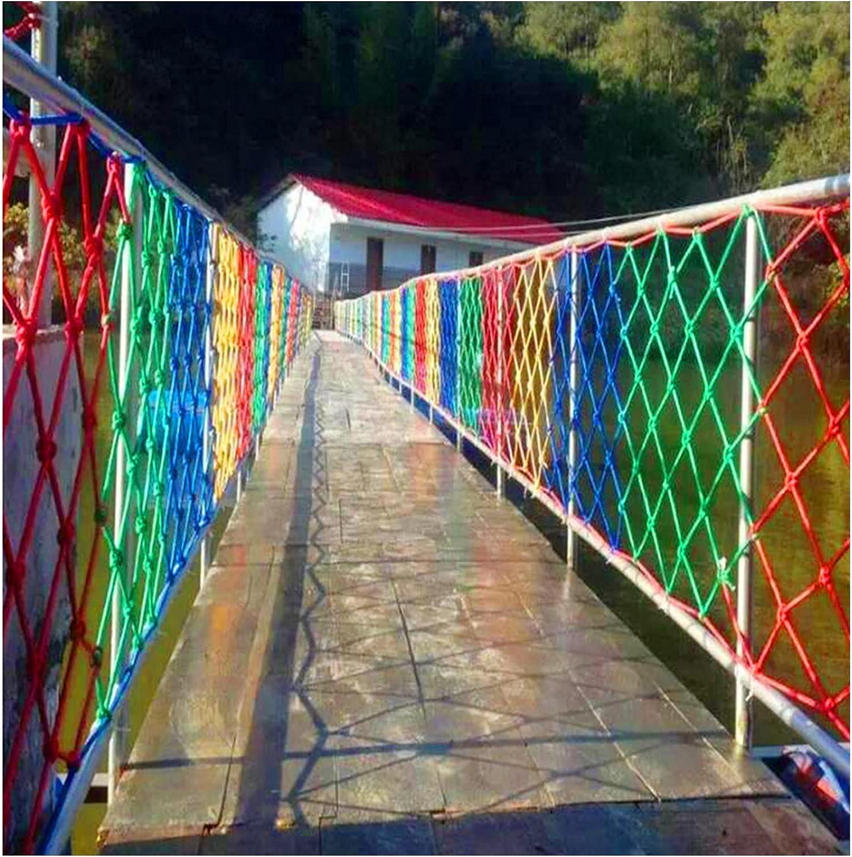 GYMEIJYG Braid Rope Nets Anti-Drop Selling Fashion D Hemp Safety Fence Net