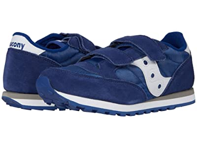 Saucony Kids Originals Jazz Double Hook Loop (Little Kid) (Cobalt Blue) Boy