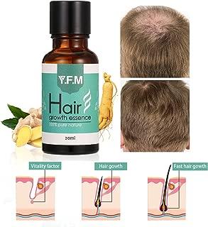 Hair Growth Essence, Y.F.M Herbal Hair Growth Liquid Can Help Hair Growing Fast Longer - Strengthens Hair Roots - Hair Loss & Hair Thinning Treatment - 20ml