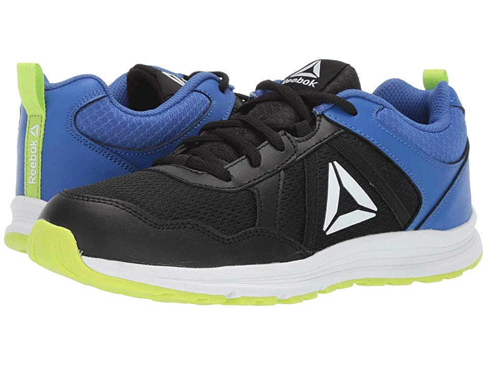 Reebok Kids Almotio 4.0 (Little Kid/Big Kid) (Black/Lime/Cobalt/White) Boys Shoes