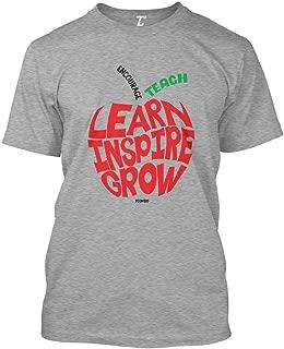 apple print t shirt