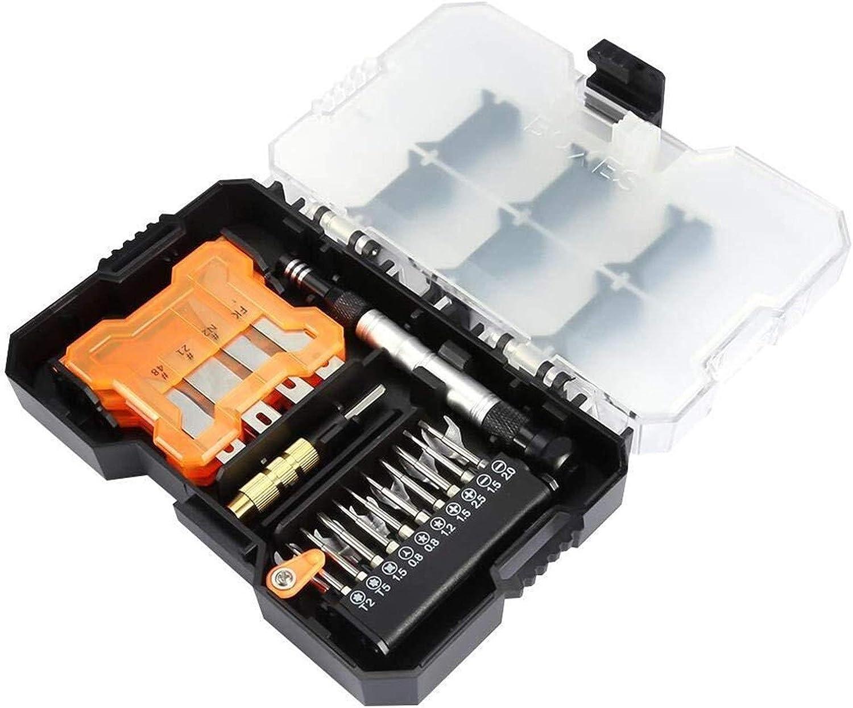 YJYGR 34 in 1 Screwdriver Kit Set Professional Repairing Kit Han