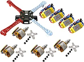 powerday F450 HJ450 4-Axis &30A Brushless Speed Controller ESC&XXD A2212 1000KV Brushless Motor for DJI Quadcopter Frame Airframe Kit