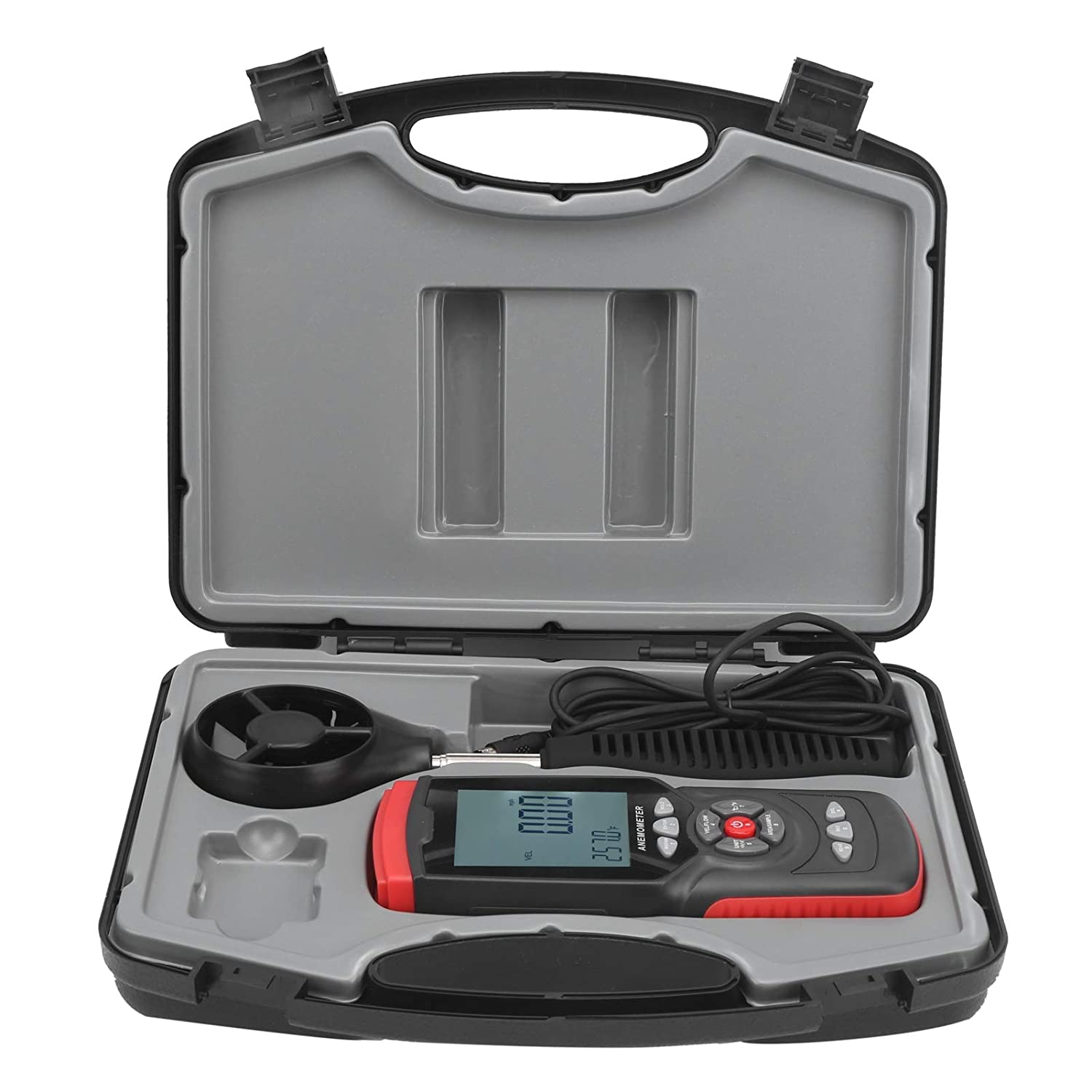 Digital Anemometer Handheld Wind Speed Meter Max 72% OFF LCD Fl Spring new work one after another Display Air