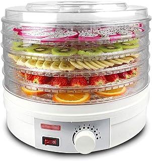 Déshydrateur Alimentaire, Contrôle de la Température 35-70 ° C, avec 5 Plateaux, Faible Consommation D'énergie - Facile à ...