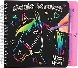 Depesche 10709 Magic Scratch Book Miss Melody - Libro para