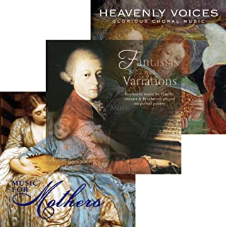 GIFT FOR MOM FROM DAUGHTER - SET OF 3 CD'S MUSIC FOR MOTHERS, HEAVENLY VOICES AND FANTASIA JEWELRY {jg} Great for mom, dad, sister, brother, grandparents, aunt, uncle, cousin, grandchildren, grandma, grandpa, wife, husband, relatives and friend.