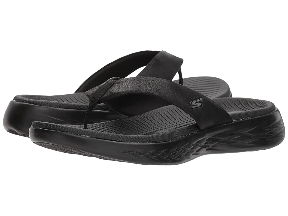 2737c542c8a SKECHERS Performance On-The-Go 600 Polished (Black) Women s Sandals