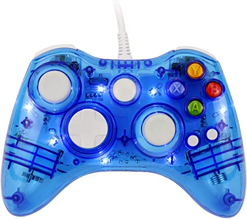 JAMSWALL Xbox 360 Controller,USB Wired Game Controller Shoulders Buttons Improved Double-Shock Force Feedback Design ...