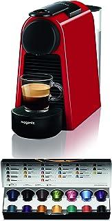 Magimix – Nespresso Essenza Mini 11366 Cafetière à Capsules, Rouge