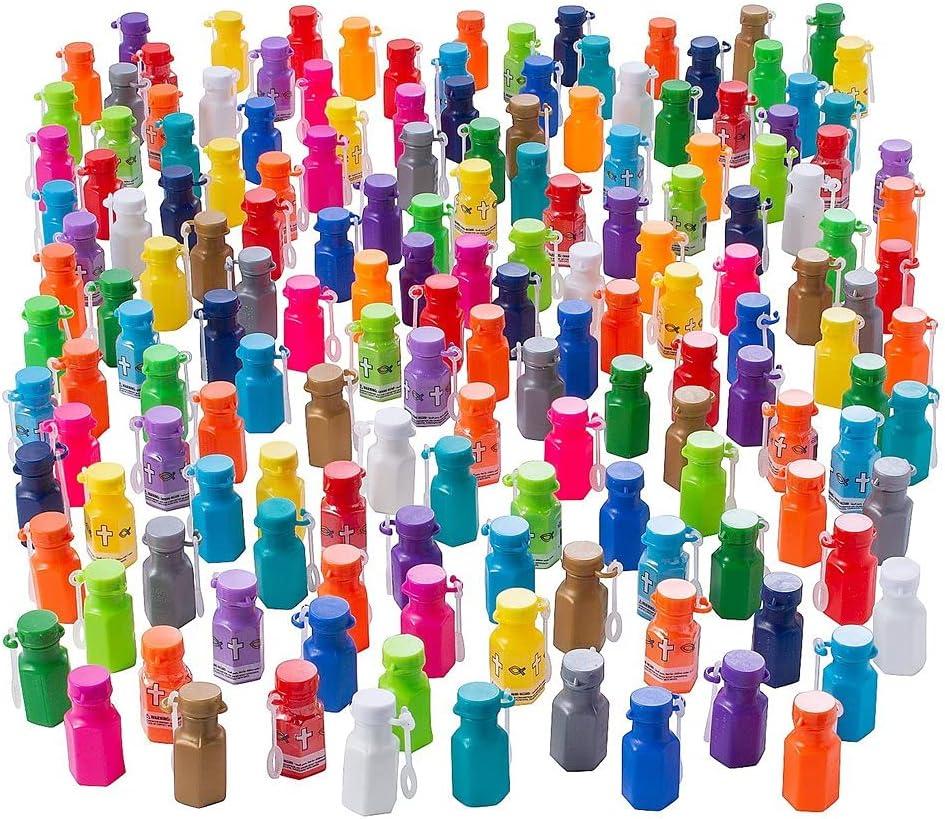 Popular brand Esunagari Stores Popular overseas 192 Piece Hexagon Bottle Bubble Mini Religious
