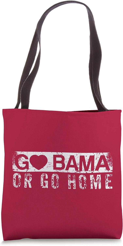 Go Bama or Go Home Alabama Fan Tote Bag
