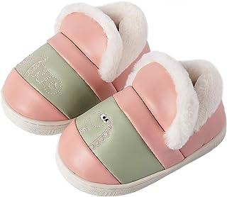Pantofole Invernali Ragazzi Ragazze FoderatiinPellicciaCaldiPantofole da Casa Bambini Comode Impermeabile Antiscivolo ...