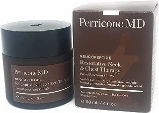 Perricone MD Neuropeptide Restorative Neck & Chest Therapy,SPF 25, 4 FL OZ