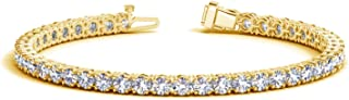 Best diamond tennis bracelet yellow gold Reviews