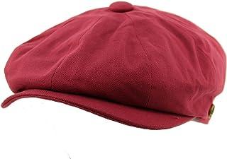 e21a30feb6a SK Hat shop Men s 8 Panel Solid Plain 100% Cotton Snap Newsboy Drivers  Cabbie Cap