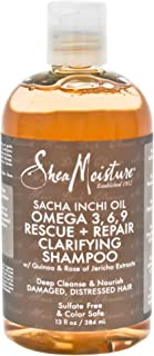 Shea Moisture Sacha Inchi Oil Omega-3-6-9 Rescue and Repair Clarifying Shampoo by Shea Moisture for Unisex - 13 oz, 384 ml