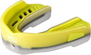 MOGO Sport M3 Mixed Berry Mouthguard - Premium Mouth Guard for MMA Boxing Football Wrestling and Lacrosse - Adult Size Mouth Piece Ages 11 & Up with Protective Case and Tether Strap