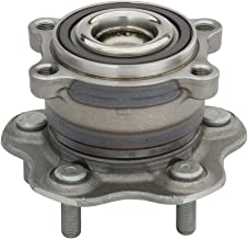 Detroit Axle - 2WD Only Rear Driver or Passenger Side Complete Wheel Hub and Bearing Assembly fits Nissan & Infiniti Vehicles