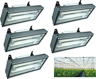 Quantity Discount Set of 5 Induction Grow Light 400 Watt Plant Lamp Hanging