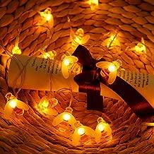28 Kinder Kreativ Bienen LED Wandleuchte Jungen M/ädchen Wandlampe Blau//Orange//Wei/ß Karikatur Wandlicht 28 17Cm