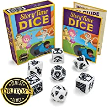 Imagination Generation Story Time Dice, Create Your Own Adventure Storytelling Game – Includes 7 Polyhedral Dice & 4 Suggested Ways to Play, Beginner Role-Playing Game