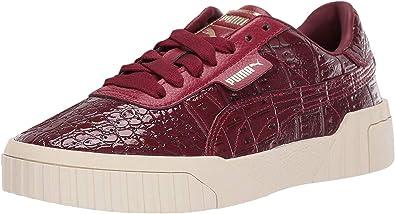 PUMA Womens Cali Croc Sneakers Shoes - Red