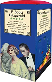 F. Scott Fitzgerald 5-Book Boxed Set: Containing: The Beautiful and Damned, The Great Gatsby, Tales of the Jazz Age, Tende...