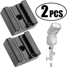 Updated Anwenk Flash Cold Shoe Mount Adapter Flash Shoe Mount Flash Stand Adapter with 1/4
