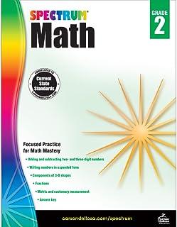 Spectrum   Math Workbook   Grade 2, Printable