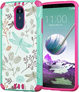 Capsule Case Compatible with LG Stylus 4, LG Stylo 4 (Year 2018) [Hybrid Dual Layer Silm..