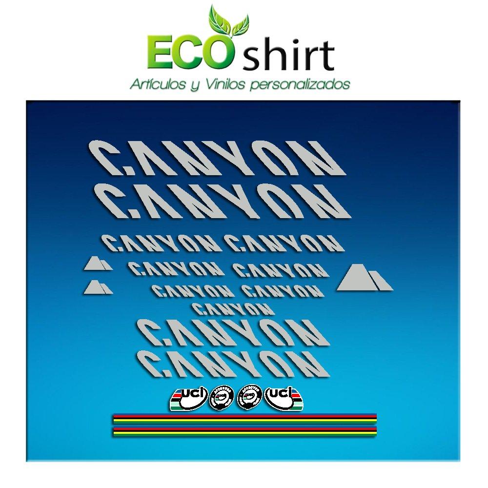 Ecoshirt FZ-XHT6-M0AV Pegatinas Stickers Canyon Bike Aufkleber ...