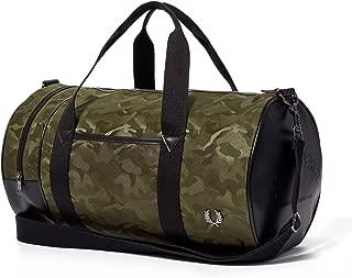 Jacquard Military Green Camo Barrel Bag