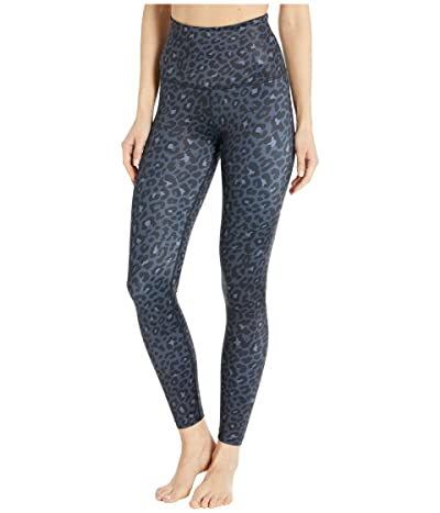 Beyond Yoga Lux High Waisted Midi Leggings (Black Leopard) Women