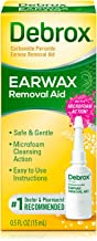 Debrox Earwax Removal Aid, 0.5 oz Earwax Removal Drops