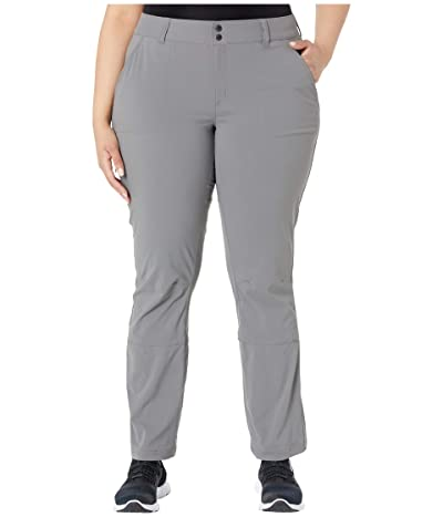 Columbia Plus Size Saturday Trail Pants (City Grey) Women