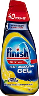 Finish All in One Max Gel, 1L, Lemon 1 liters