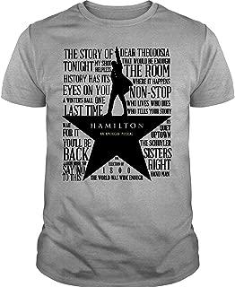 The Lewis Hamilton Band T Shirt, Hamilton an American Musical T Shirt