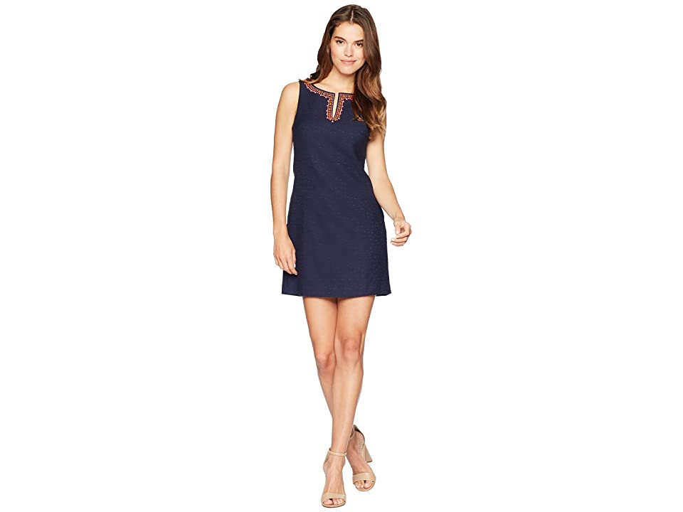 Trina Turk Seal Beach Dress (Indigo) Women