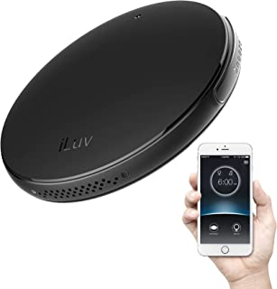 iLuv Smartshaker 2 قابل حمل مسافر تخت خواب زنگ دار هشدار خواب سنگین ، ویبره مسافر زنگ هشدار مسافرتی - سازگار با آی فون X / X ، آی فون 8/8 به علاوه ، گلکسی نوت 9/8 ، Galaxy S9 / S8