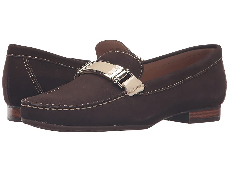 72a2196921c Hush Puppies Batley Dalila (Brown Nubuck) Women s Slip on Shoes