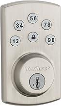 Kwikset 99070-101 Powerbolt 2 Door Lock Single Cylinder Electronic Keyless Entry Deadbolt featuring SmartKey Security in S...