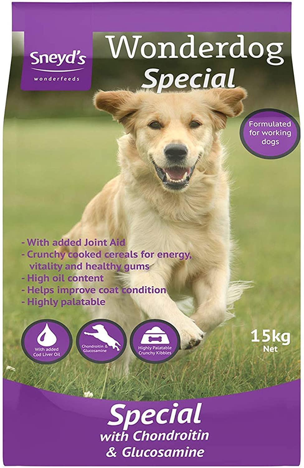 3XSpecial with Chondroitin & Glucosamine 15kg