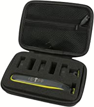 Khanka Hard Travel Case Replacement for Philips Norelco OneBlade Hybrid Electric Trimmer Shaver, QP2520/70