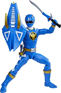 Power Rangers Lightning Collection Dino Thunder Blue Ranger 6-Inch Premium Collectible Action Figure Toy with Accessories