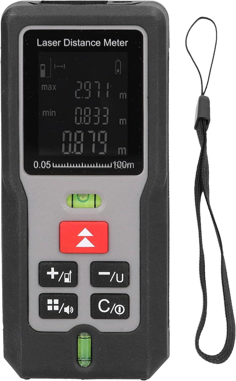 Medidor de distancia láser-M100 100M Telémetro láser Medidor de distancia infrarrojo Equipo de medición de distancia