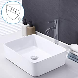 Amazon Com Above Counter Vessel Sinks Bathroom Sinks