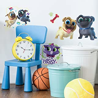 RoomMates Puppy Dog Pals Peel And Stick Wall Decals, 9